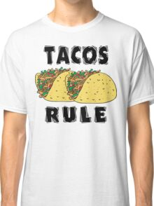Cinco de Mayo Tacos Rule Classic T-Shirt