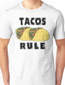 Cinco de Mayo Tacos Rule Unisex T-Shirt