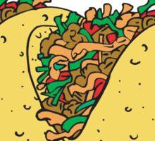 Cinco de Mayo Tacos Rule Sticker