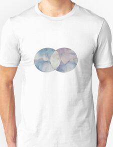 Watercolor Venn Diagram T-Shirt