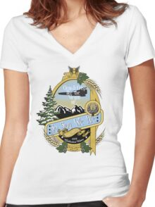 So Say We Ale Women's Fitted V-Neck T-Shirt