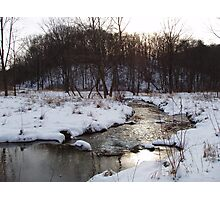 Winter in Spring Valley Park Photographic Print