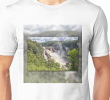 Tropical water fall Unisex T-Shirt