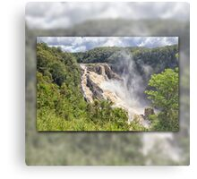 Tropical water fall Metal Print