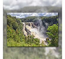Tropical water fall Photographic Print