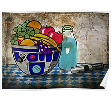 Still Life With The Blue Milk Poster