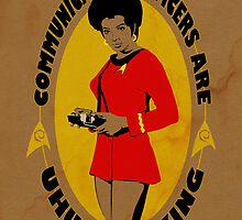 Uhura-mazing by Geekleetist