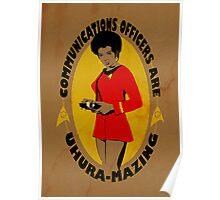 Uhura-mazing Poster
