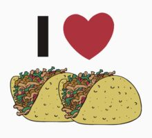 Cinco de Mayo I Love Tacos by HolidayT-Shirts