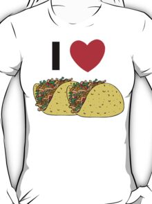 Cinco de Mayo I Love Tacos T-Shirt