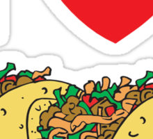 Cinco de Mayo I Love Tacos Sticker