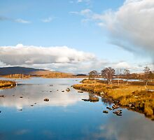 Rannoch Moor,Glencoe Scotland by M.S. Photography/Art