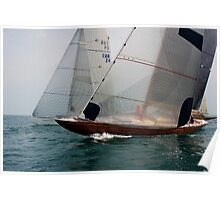 Transparent Sails Poster