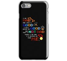 No One I'd Rather Be iPhone Case/Skin