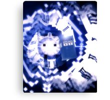 Minecraft Doctor Who - 12th Doctor Canvas Print