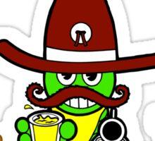 """Cinco de Mayo """"Official Cinco de Mayo Drinking Team"""" Sticker"""
