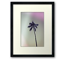palm tree ver.vintage Framed Print