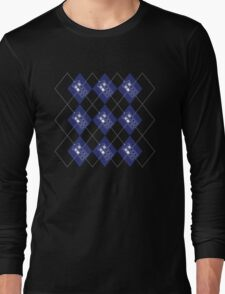 Time And Relative Dimension in ARGYLE Long Sleeve T-Shirt