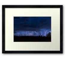 5 Strikes Framed Print