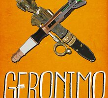 Doctor Who Poster Series #6: Geronimo by Caffrin25