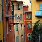 Painted Buildings | Nice, France by rubbish-art