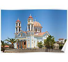 The Greek Island of Crete Poster