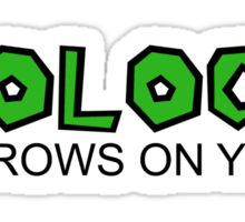 Biology, It Grows On You Sticker