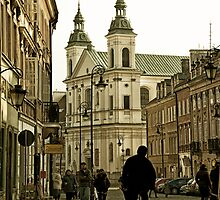 Warsaw Old Town by Kasia-D