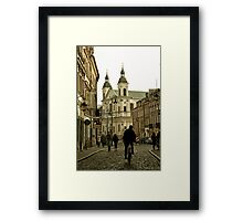 Warsaw Old Town Framed Print