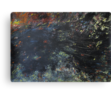 Black Water Canvas Print