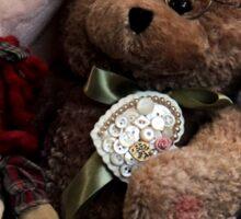 BFFs: Teddy Bear and Raggedy Ann Sticker