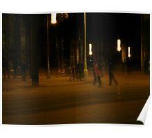 Evening Walk | Amsterdam, Netherlands Poster