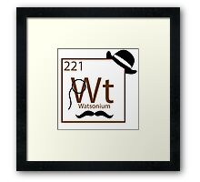 My Dear Watson is Elementary Framed Print