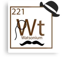 My Dear Watson is Elementary Metal Print