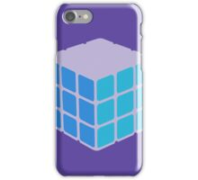 Rubix Cube - Good with my hands. Negative Space iPhone Case/Skin