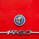 Alfa Romeo 1750 Badge by Flo Smith