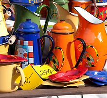 Pots And Pitchers by phil decocco