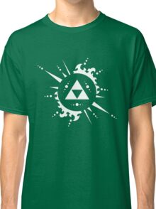 The legend of Zelda Triforce, White Classic T-Shirt