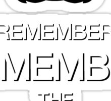 Remember, remember the 5th of November Sticker