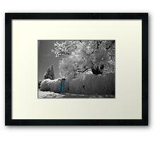 tele box Framed Print