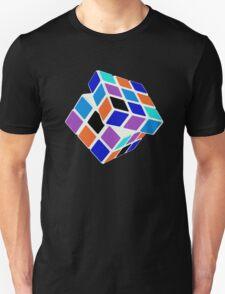 Rubix Cube - Unsolved. Negative Space T-Shirt