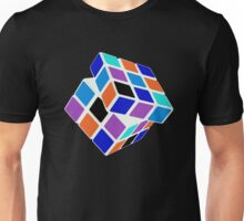 Rubix Cube - Unsolved. Negative Space Unisex T-Shirt