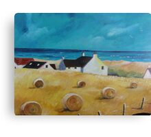 Balmedie Cottages Canvas Print