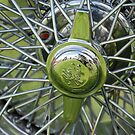 Alfa Romeo Spoked Wheel by Flo Smith