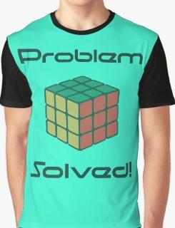 Rubix Cube - Problem Solved. Graphic T-Shirt
