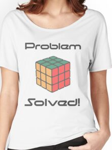 Rubix Cube - Problem Solved. Women's Relaxed Fit T-Shirt
