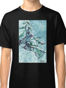 Standing Tall in the Snow Classic T-Shirt