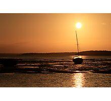 stradbroke island sunset Photographic Print