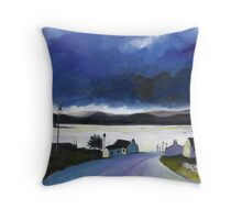 Road to Arisaig Throw Pillow
