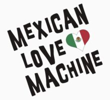 "Cinco de Mayo ""Mexican Love Machine"" Baby Tee"